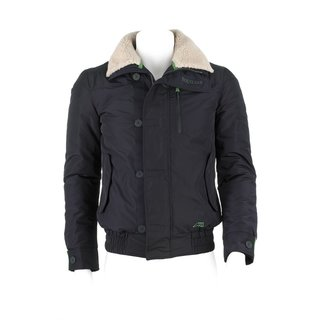 equiline Herrenjacke Kian, blue-green, Gr. XL