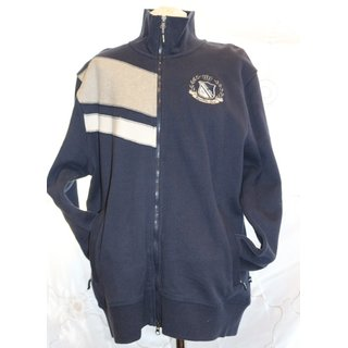 euro star Herren Sweatjacke Mark, navy, Gr. XL