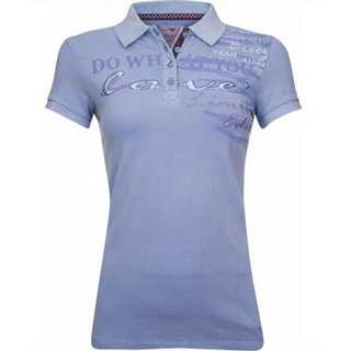 Imperial Riding Polo Shirt Hello Sunshine lavender